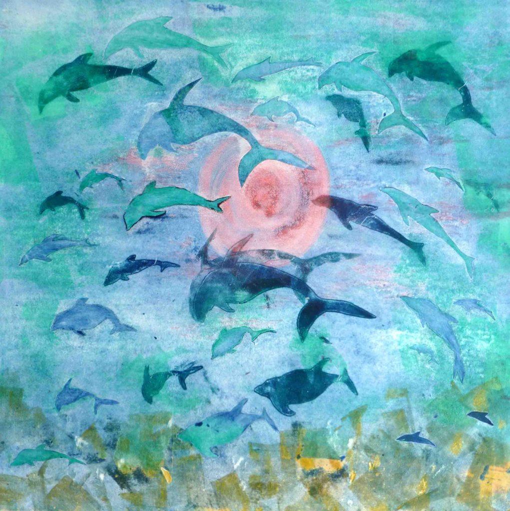 Dolphin Morning